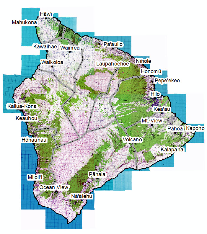 USGS-Map Hawaii